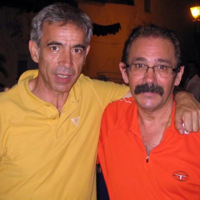 Con nuestro amigo Imanol Arias